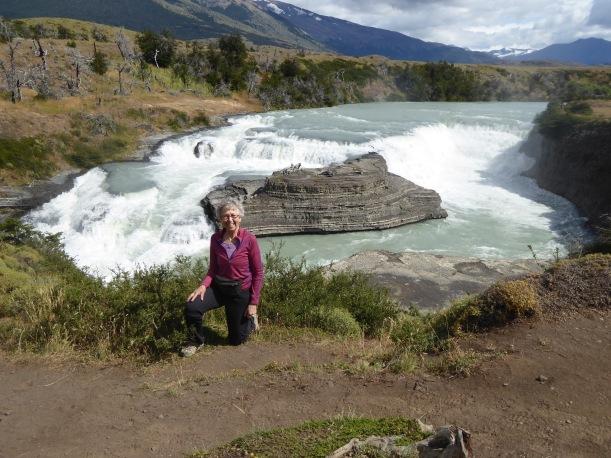 Nancy at Laguan Azul