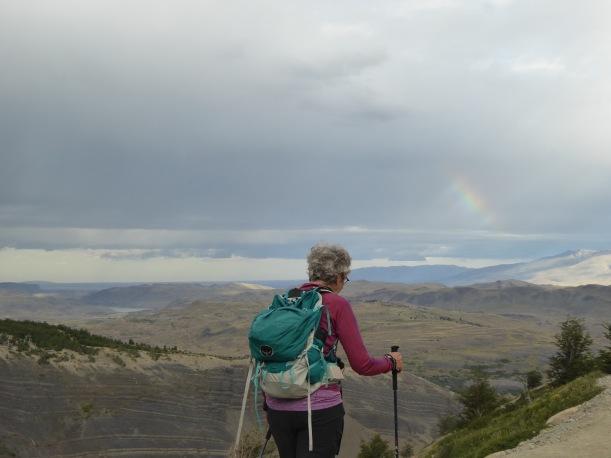 I liked seeing this rainbow.