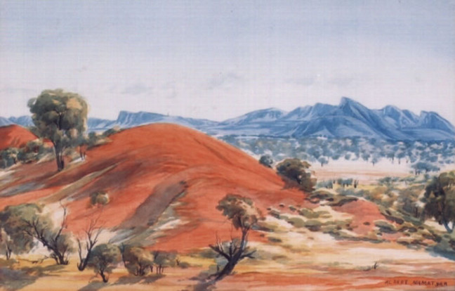 Albert Namatjira was a great painter.