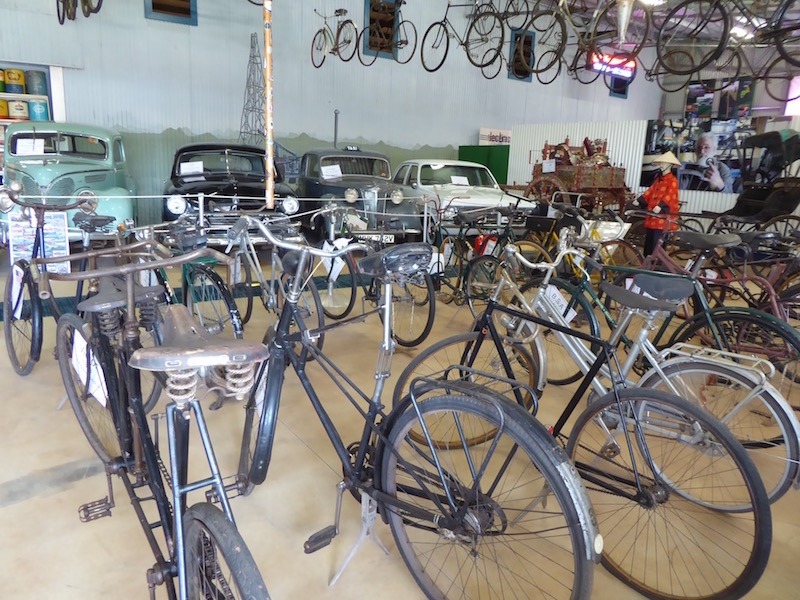 Bicycles in the Transport Museum