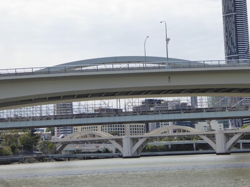 These are bridges in Brisbane.