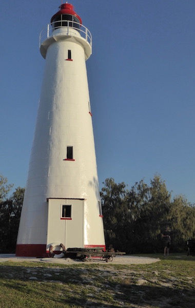 This is the old lighthouse