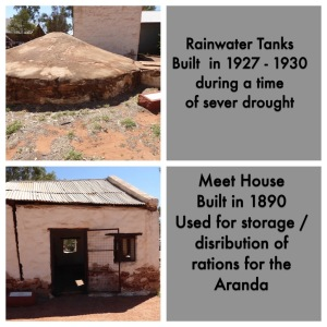 Water tank and meat house