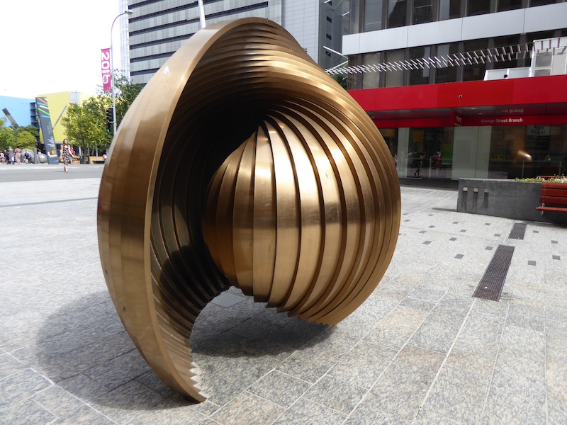 This is a sculpture in Brisbane.