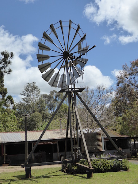 This is an old windmill