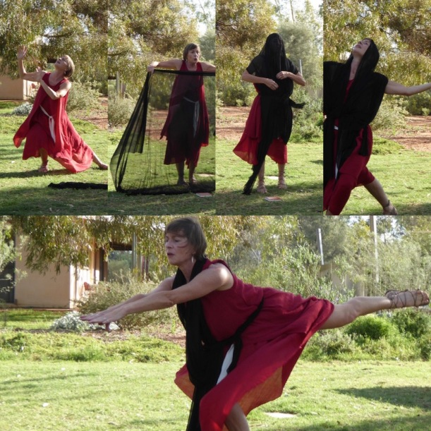 This is a dance story of Hildegard.