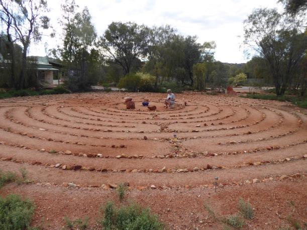 Labyrinth at Campfire at the Heart.