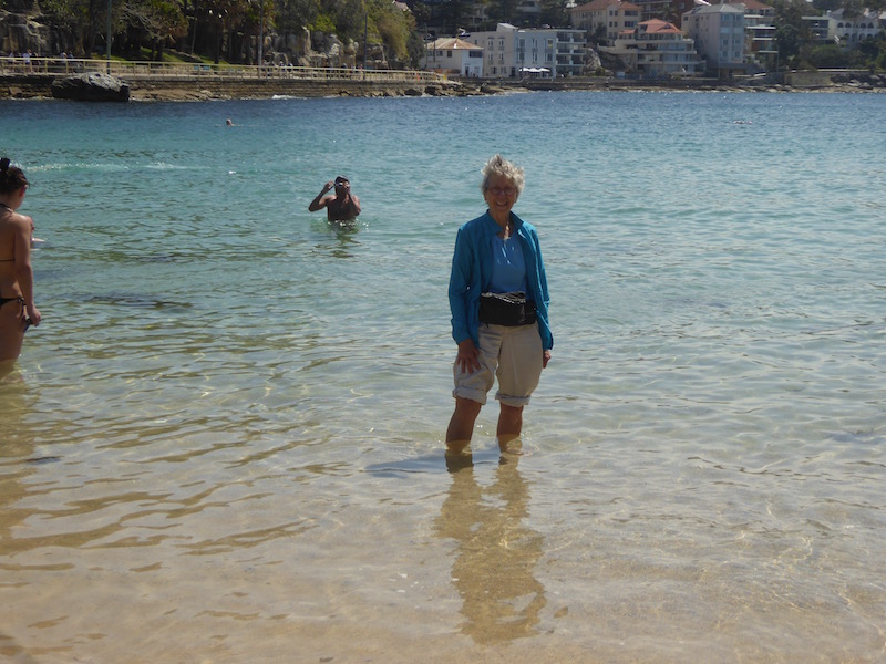 nancy-in-water-at-shelly-beach