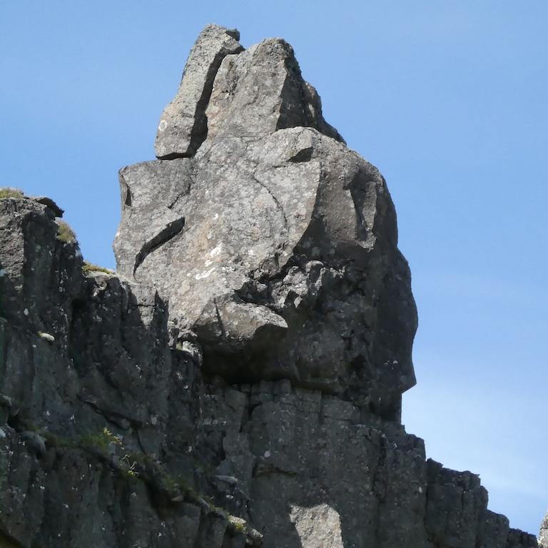 Rock at Þingvellir National Park